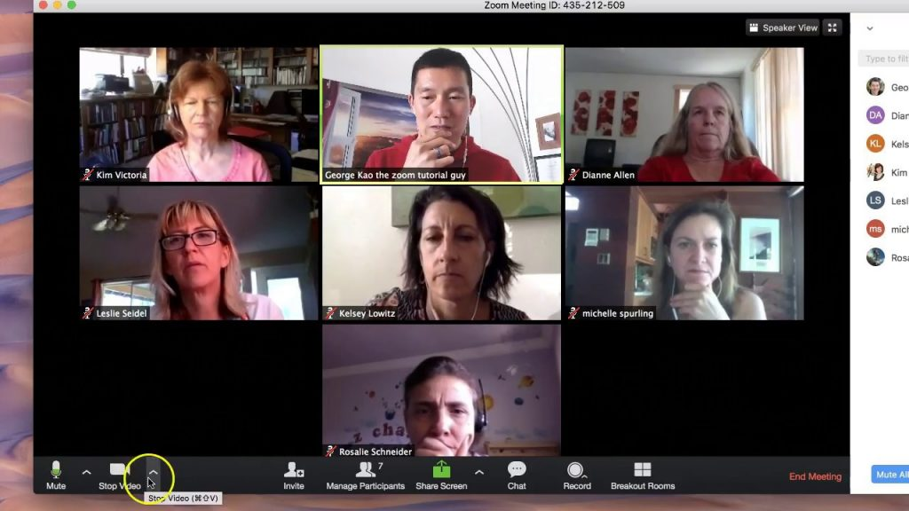 Instructions on hosting a Zoom meeting. | Solva