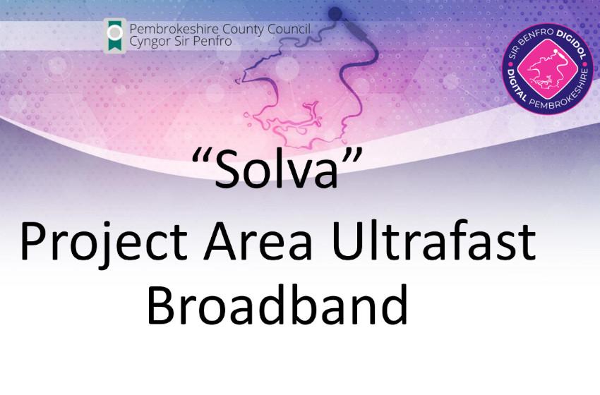1 Gbps Fibre  (1000 Mbps) for Solva
